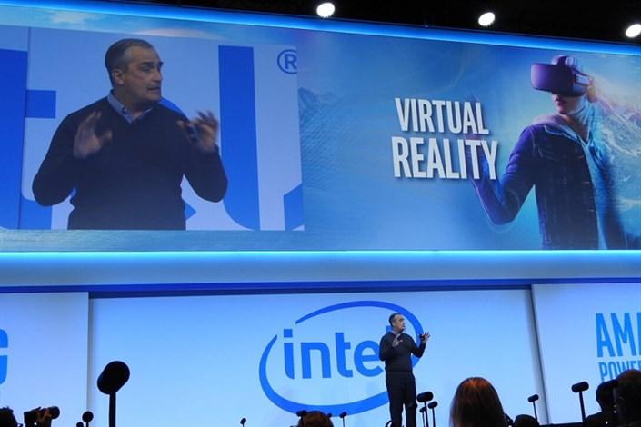 اینتل بخشی از کنفرانس خبری CES 2017 خود را در واقعیت مجازی برگزار کرد