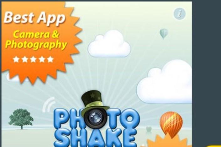برنامه PhotoShake: ساخت تصاویر Collage با تکان دادن گوشی