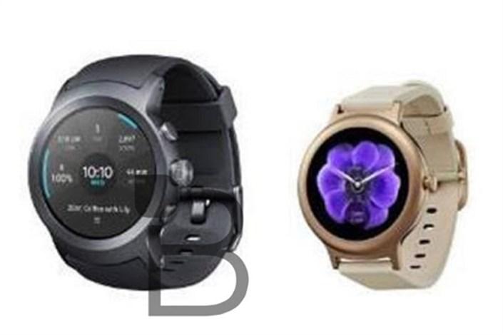 انتشار اولین تصویر از ساعت های هوشمند جدید LG و گوگل