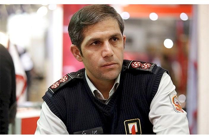 مهار آتش سوزی پالایشگاه تهران/۱۲۵درخواستی از پالایشگاه تهران نداشته است