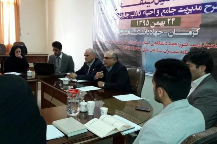 تالاب هامون جازموریان برنامه مشترک محیط زیست سیستان و بلوچستان و کرمان برای احیا