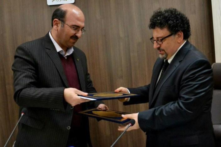 عقد قرار داد واحد بین المللی ماکو با دانشگاه حاجت تبه ترکیه