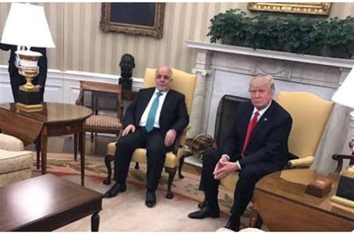 رایزنی تلفنی ترامپ با العبادی در خصوص همکاریهای نظامی