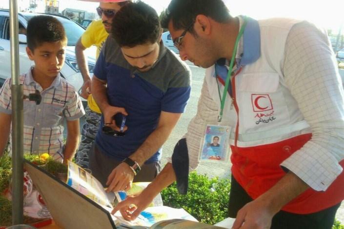 خدمترسانی هلال احمر مازندران به 400 هزار گردشگر نوروزی