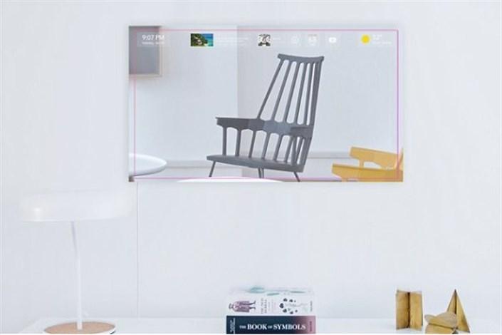 آینه ای که دستیار هوش مصنوعی است