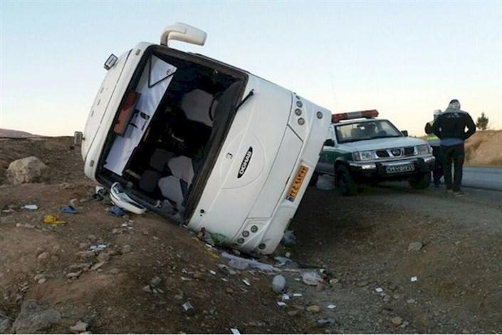 اسامی مصدومان  حادثه واژگونی اتوبوس  در سبزوار