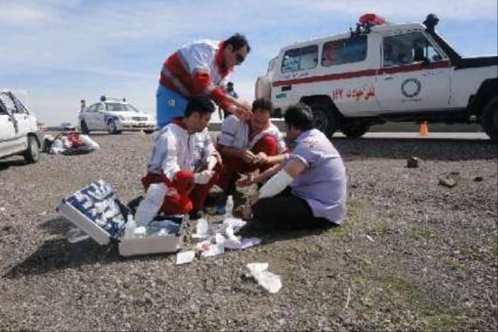 نجات 98 نفر در سوانح ترافیکی طی 72 ساعت گذشته