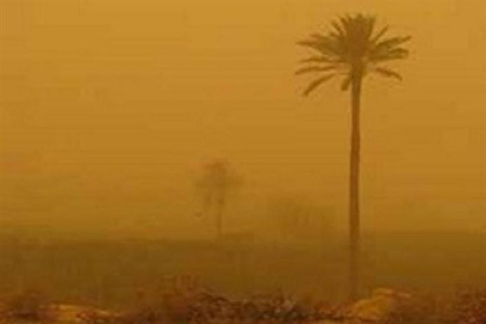 ورود توده گرد و خاک از عراق به خوزستان