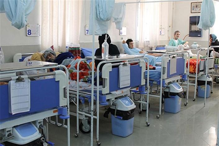 ٣.٢٤ درصد تخت هایبیمارستانی کشور خیریه است
