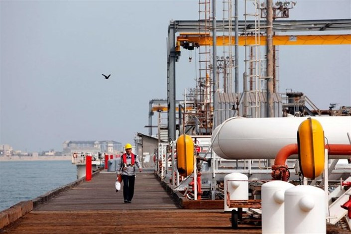 بارگیری ۵۰۰ هزار بشکه نفت از لایههای نفتی پارس جنوبی