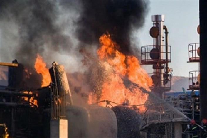 آتشسوزی در پالایشگاه تهران/ یک تن کشته و یک نفر مصدوم شدند