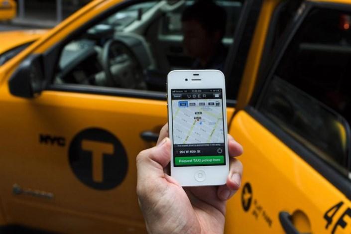 تاکسیهای اینترنتی از هیچ مرجع قانونی مجوز ندارند
