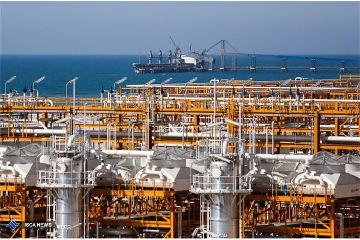 تولید گاز در سکوهای فازهای ۲۰ و ۲۱ پارس جنوبی از ظرفیت اسمی فراتر رفت