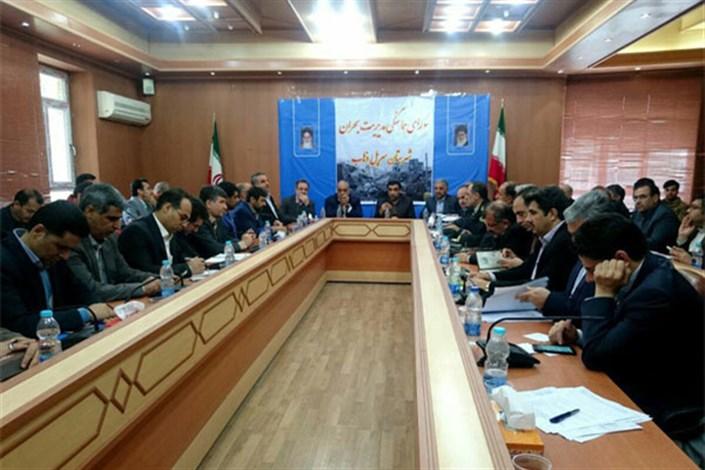 قرارگاه خاتم الانبیا (ص) ۱۲۰۰ کانکس را برای زلزله زدگان تامین کرد
