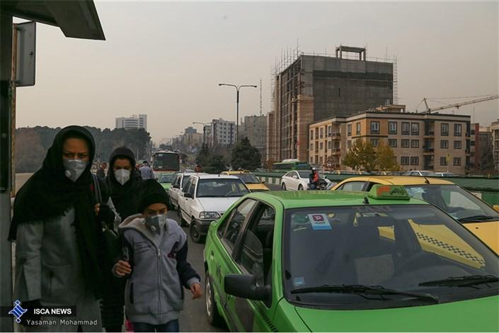هوای تهران «آلوده» شد