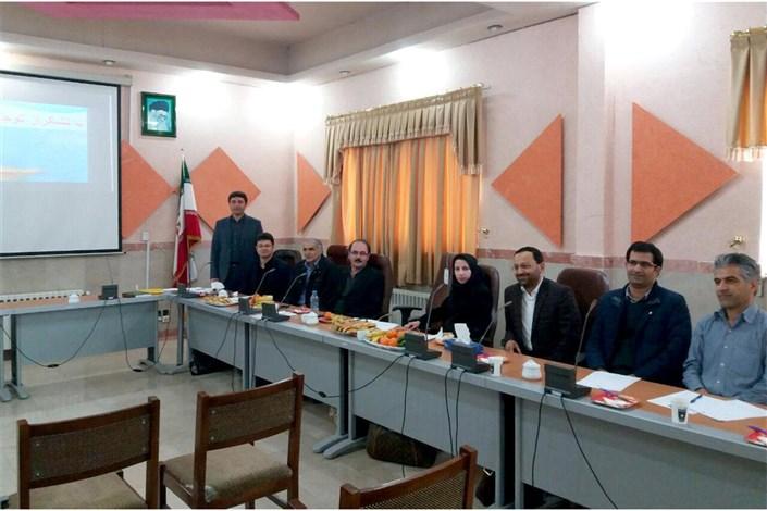برگزاری اولین جلسه دفاع از رساله دکتری رشته فیزیک دانشگاه آزاد واحد اردبیل