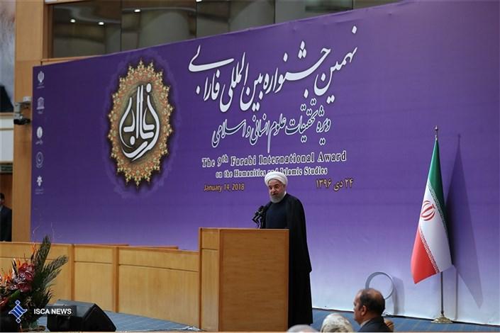روحانی: توسعه کشور بدون رشد علوم انسانی و اسلامی امکان پذیر نیست