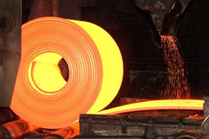 تولید بیش از 19 میلیون تن فولاد خام در 11 ماه 96