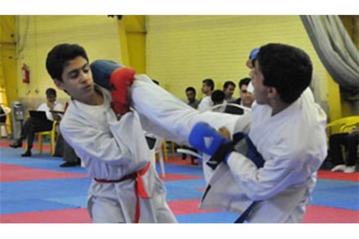 نفرات برتر کاراته نوجوانان و امید شناخته شدند