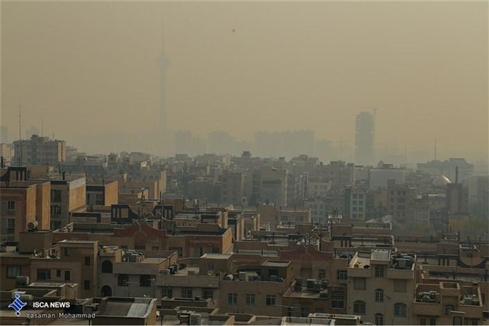 هوای  پایتخت برای گروه های حساس سالم نیست/ شاخص 110
