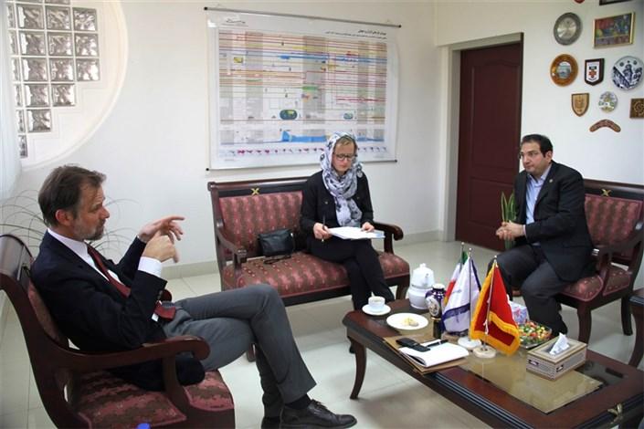 گسترش همکاری های دانشگاه شریف و کشور سوئیس