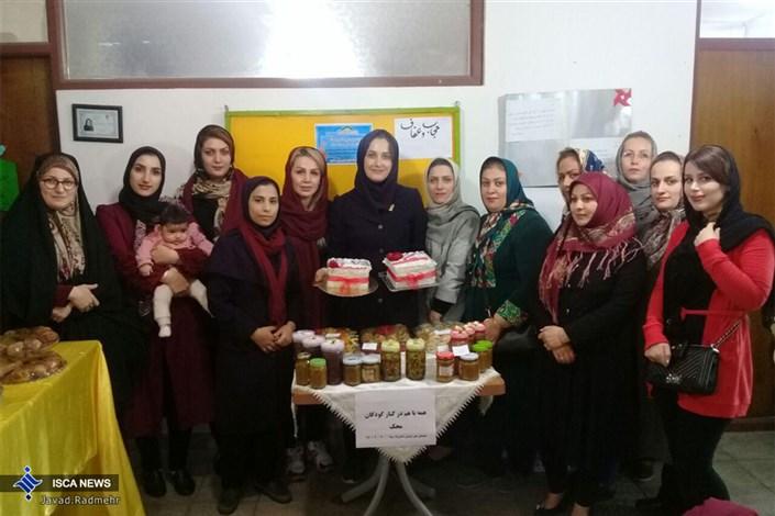 مراسم جشن نیکوکاری با شعار (یک سقف، یک دنیا امید) در مدرسه دخترانه سما واحد لنگرود برگزار شد