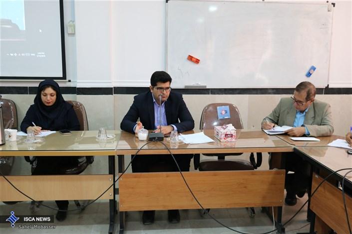 حضور قاضی شورای حل اختلاف در نشست تخصصی حقوقدانان دانشگاه آزاد اسلامی اوز