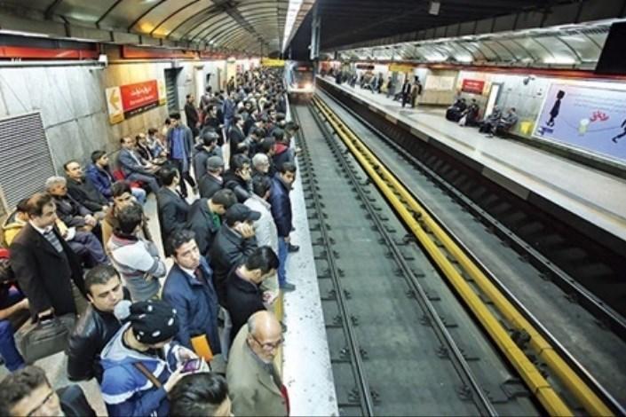 شلوغی مترو مربوط به نقص فنی نیست/ تغییر قیمت بنزین مسافران را افزایش داد