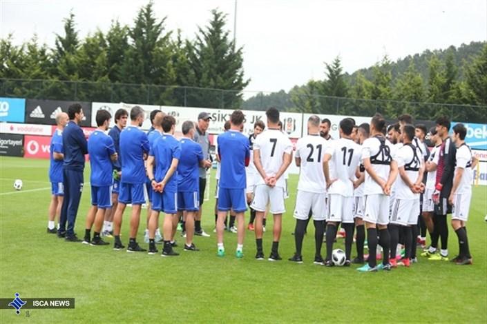 دومین جلسه تمرینی تیم ملی فوتبال ایران در استانبول+ عکس