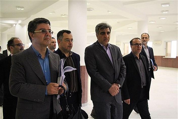 استاندار گیلان از طرح پیشنهادی بوم گردی دانشگاه آزاد اسلامی واحد رشت بازدید کرد