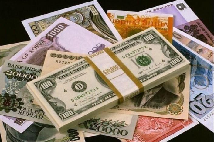 جدیدترین نرخ ارزهای دولتی اعلام شد/ رشد 16 ارز بانکی+ جدول