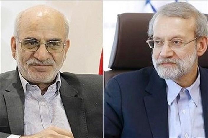 دیدار استاندار تهران با رئیس مجلس شورای اسلامی