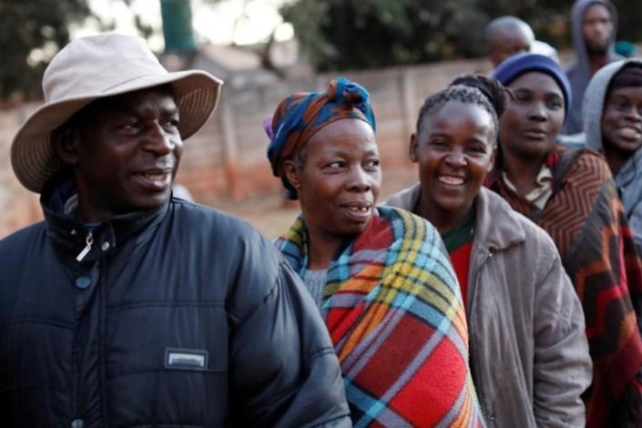 آغاز رای گیری ریاست جمهوری در زیمبابوه