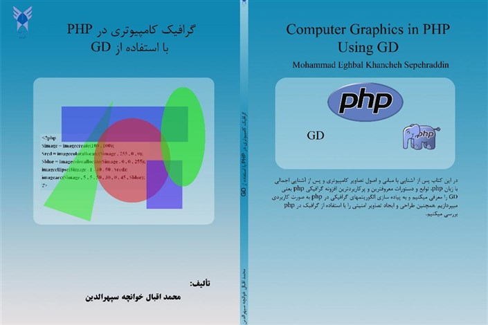 گرافیک کامپیوتری در PHP با استفاده از GD منتشر شد