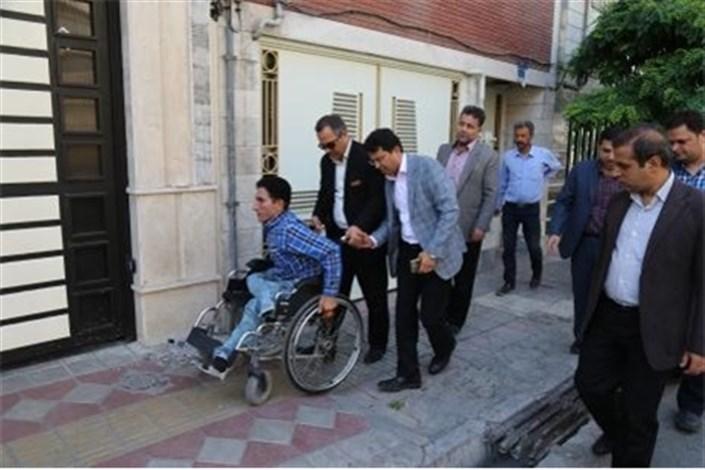 جایگاه معلولان  درمناسب سازی فضاهای شهری کجاست؟