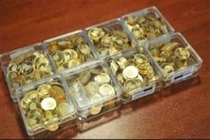 قیمت سکه طرح جدید  به ۱۳ میلیون و ۴۵۰ هزار تومان رسید
