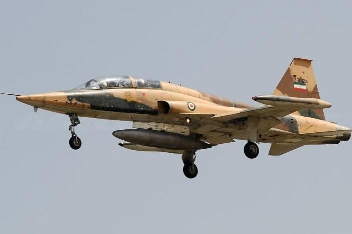 یک فروند اف ۵ در دزفول سقوط کرد