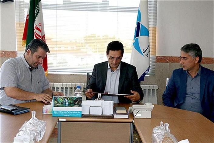 تفاهم نامه همکاری دانشگاه آزاد و خانه مطبوعات استان اردبیل منعقد شد