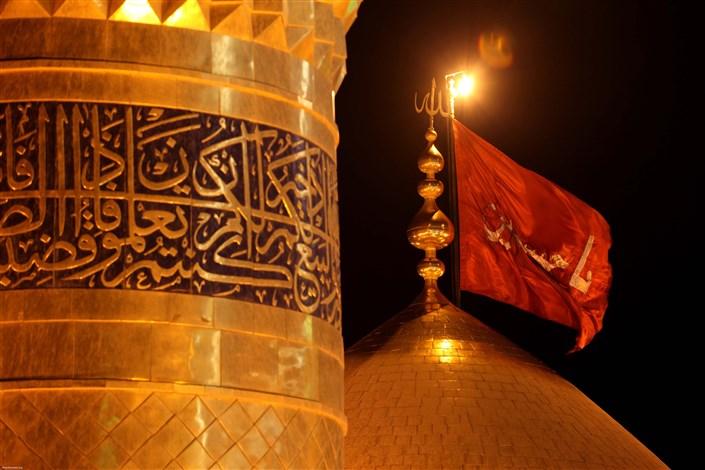 عملیات لاغرسازی ستونهای اطراف ضریح مطهر امام حسین (ع)به پایان رسید+عکس