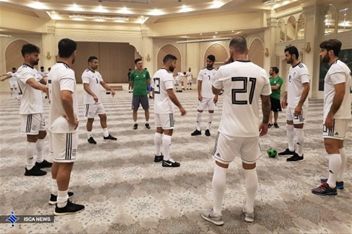 برگزاری تمرین ریکاوری شاگردان کیروش در ازبکستان