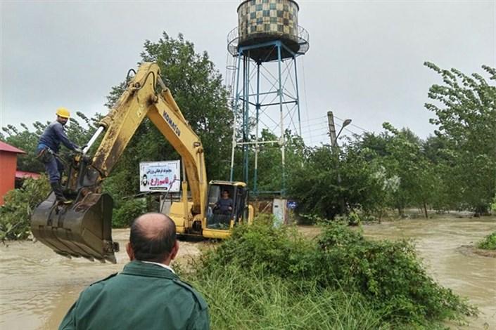خسارت سیلاب به تاسیسات آب و برق 25 روستا در استان گیلان/ ترمیم خرابیها در کمتر از 24 ساعت