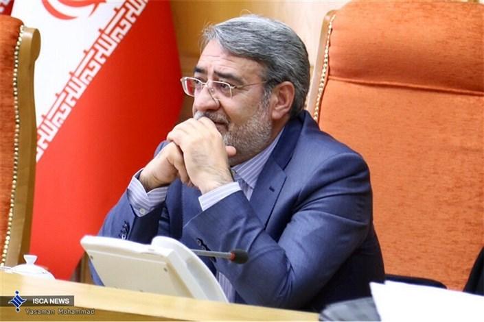 طرح استیضاح وزیر کشور به هیئت رئیسه مجلس تقدیم شد
