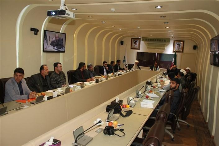 جلسه شورای تخصصی فرهنگی دانشگاه های آزاد استان سمنان برگزار شد