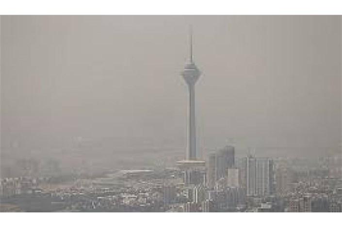 هوای تهران ناسالم است/ افزایش شاخص آلایندگی  به  106