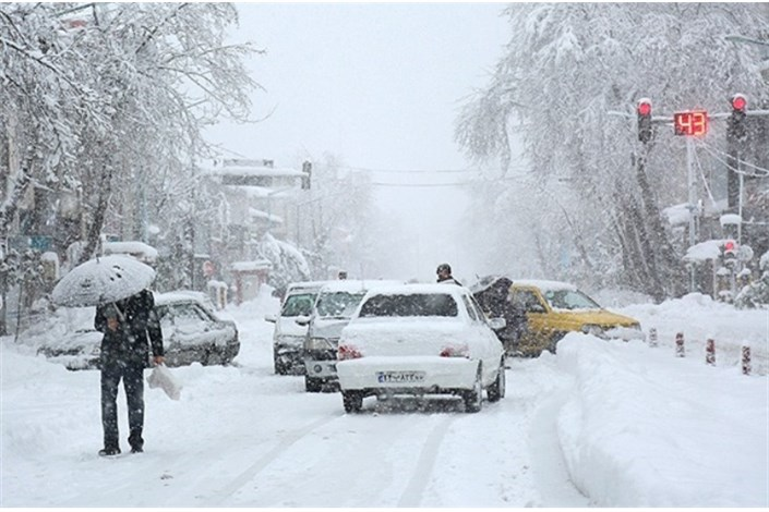 ادامه بارش برف و باران در اکثر جاده های کشور