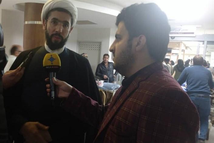 حجت الاسلام رستمی: حامل دعای سلامتی رهبری برای مصدومان حادثه واژگونی اتوبوس هستم