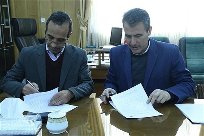 دانشگاه آزاد واحد میانه و آموزش پرورش شهرستان تفاهم نامه امضا کردند
