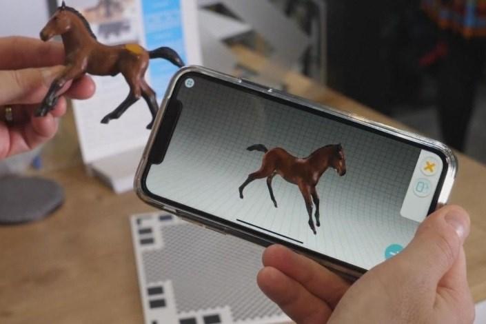 نرم افزار تصویربرداری سه بُعدی برای گوشی تلفن همراه