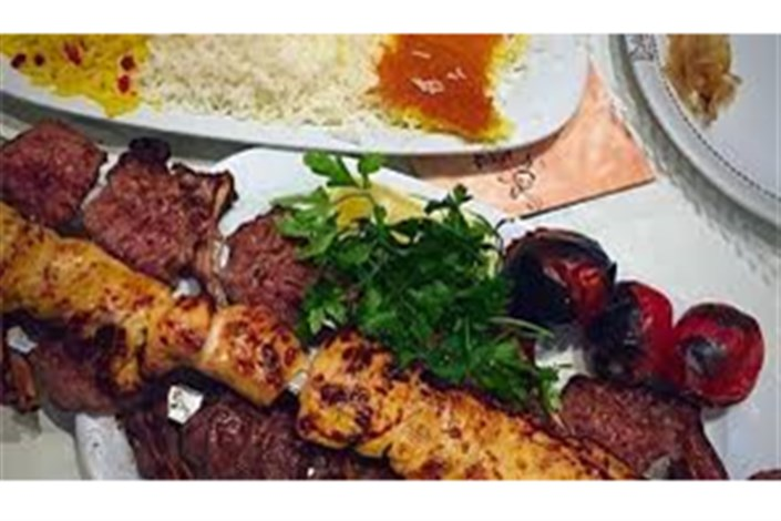 فاکتور سه پرس غذا شامل کباب و جوجه 744 هزار تومان/گزارش تعزیرات از گوشت های یخی در رستوران لوکس