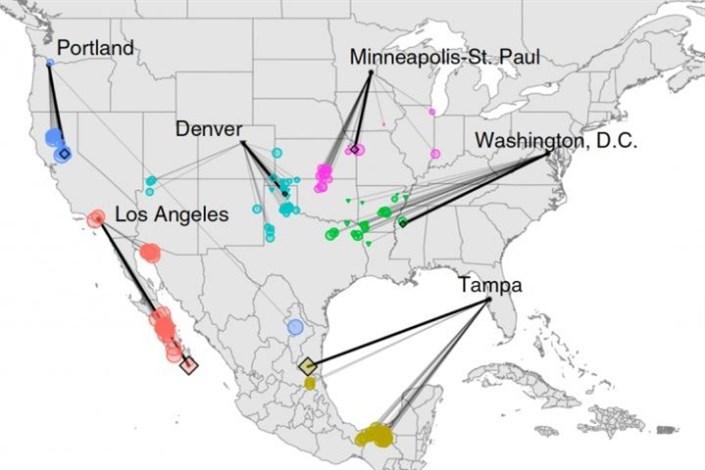 مدلسازی تغییرات آب و هوایی آمریکا